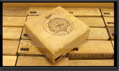 Гравировка деревянных коробок