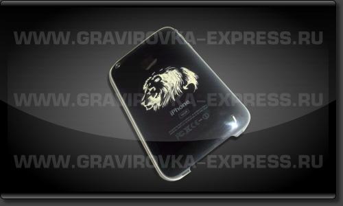 Телефон iPhone с изображением