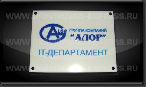 Объемные буквы на вывеске