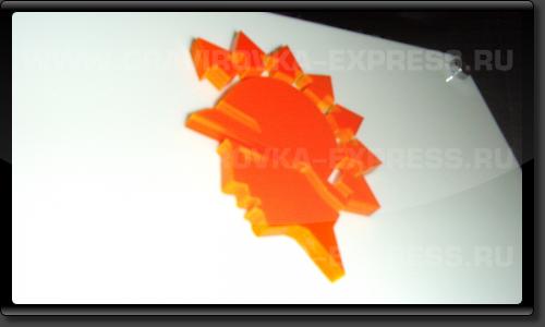 Объемный логотип вывески