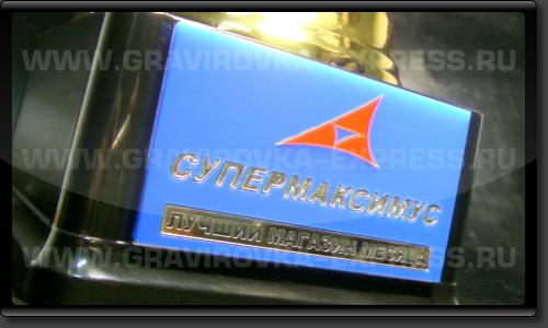 Кубок с логотипом «Максимус»